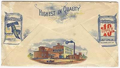 история печати на почтовых конвертах
